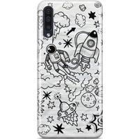 Melefoni Samsung Galaxy A50 Space Serisi Leila Desenli Kılıf
