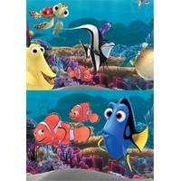 Disney Nemo - Puzzle (Yapboz) 2'si 1 arada (12+24 Parça)