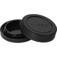 Ayex Olympus Ve Panasonic Micro 4/3 İçin Body Ve Lens Arka Kapağı