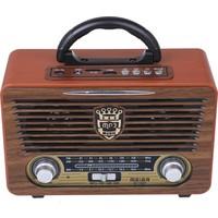Meirer M115 Dvs Usb Sd Bluetooth Nostaljik Radyo