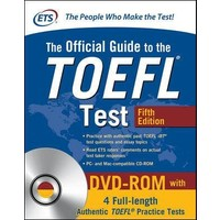 The Official Guide To The TOEFL Test (With DVD-ROM) 5Th Ed - ETS