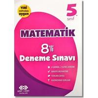 4 x 4 5. Sınıf Matematik 8'li Deneme Sınavı