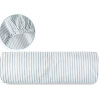 English Home Stripe Pamuklu Çift Kişilik Lastikli Çarşaf 160X200 Cm Mavi