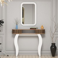 Variant Damla Aynalı Dresuar - Beyaz