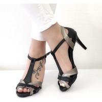 Mio Gusto Octavia Siyah Topuklu Ayakkabı