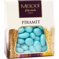 Melodi Çikolata Mavi Renkli Badem Şekeri - 250gr