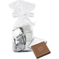 Melodi Çikolata Gümüş Sargılı Madlen Sütlü Çikolata 500g