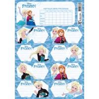 Frozen Ders Prog.3Lü Etiket