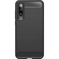 Microcase Xiaomi Mi 9 Se Brushed Carbon Fiber Silikon Kılıf