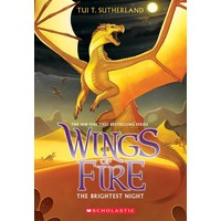 Wings Of Fire 5: The Brighest Night - Tui Sutherland
