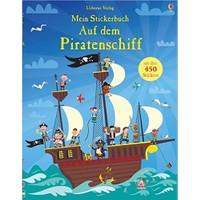 Mein Stickerbuch: Auf Dem Piratenschiff - Paul Nicholls