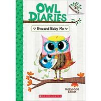 Owl Diaries 10: Eva And Baby Mo - Rebecca Elliott
