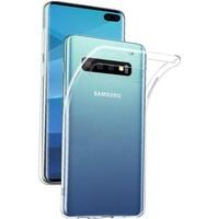 Cepaksesuarcim Samsung Galaxy S10 Plus Premium Şeffaf Silikon Kılıf
