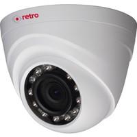 Retro Rd-1000Rp-D 1Mp 2.8Mm Lens Ir Dome Hd-Cvı Kamera