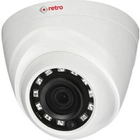 Retro Rd-1400R-D 4Mp 3.6Mm Lens Ir Dome Hd-Cvı Eyeball Kamera