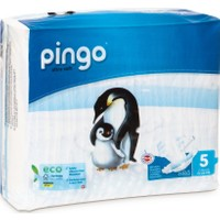 Pingo No:5 Ekolojik Bebek Bezi Junior 36 Adet