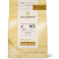 Callebaut Beyaz Çikolata W2 - 2.5 kg