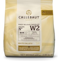 Callebaut Beyaz Çikolata W2 - 400 g