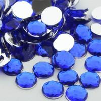 Can Kristal Görünümlü Süsleme Taşı Lacivert 1 cm 100 Adet