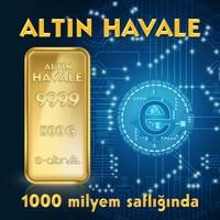 24 Ayar 500 gr Hesaba Has Altın Havale