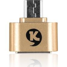 Ktools OTG Kablosu Micro USB Dönüştürücü Hızlı Veri Transferi