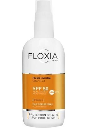 Floxia Protexio Clear Fluid SPF 50 Renksiz Güneş Koruyucu Sprey 125 ml