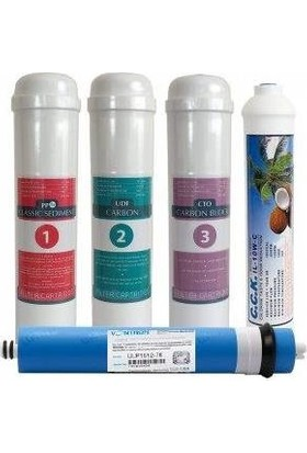 Cleanwater İnline Filtre 5 Aşama Eco