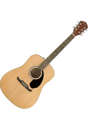 Fender FA-125 Dreadnought Natural Akustik Gitar