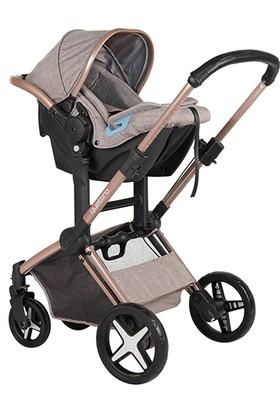 Prego Quattro Travel Sistem Bebek Arabası - Gri