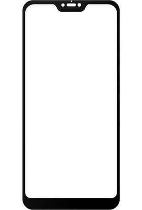 Melikzade Xiaomi Mi 8 Lite 5D Ekranı Tam Kaplayan Tempered Glass Ekran Koruyucu Cam