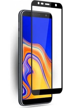 Melikzade Samsung Galaxy J6 Plus 5D Tam Kaplayan Ekran Koruyucu Cam