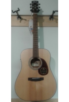 Cort Elektro Akustik Gitar, Masif Ladin Kapak, Natürel S