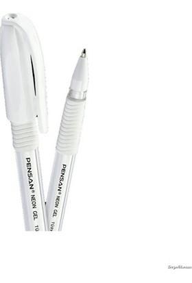 Pensan Jel Kalem Neon 1.0 Mm Beyaz 2290/2229