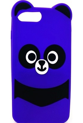 Inter iPhone 7 Plus Panda Figürlü Telefon Kılıfı