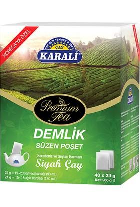 Premium Jumbo Demlik Poşet Siyah Çay 40x24 gr