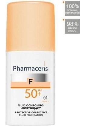 Pharmaceris SPF 50 Ivory Protective Corrective Foundation Fluide 50 ml