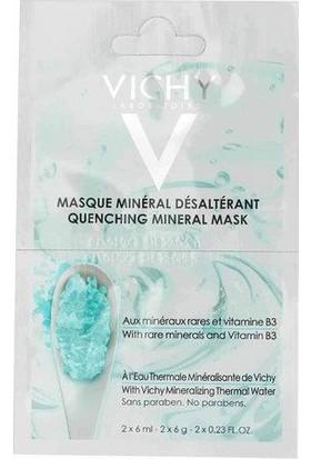 Vichy Cildi Nemlendiren Mineral Maske 2 x 6 ml