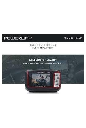 Powerway Mp4 Player Fm-17 | Fm Transmitter 2Gb Dahili Hafıza