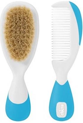 Chicco Fırça Ve Tarak Seti 0 ay+ Mavi