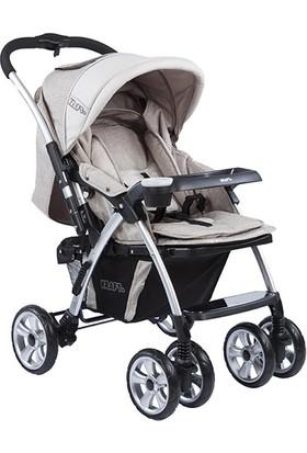 Kraft Evo İki Yönlü Bebek Arabası Bej