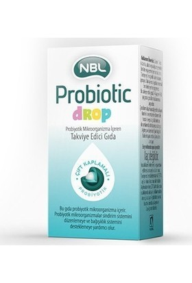 Nbl Probiotic Drop 7,5 Ml
