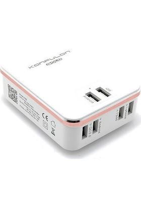 Konfulon Çoklu Şarj Aleti 7A 6 USB Şarjh Cihazı