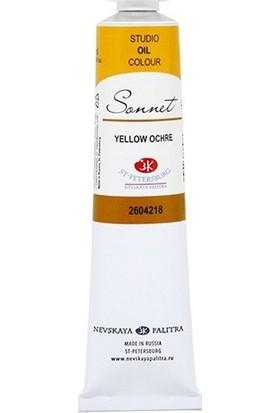 St Ptersburg Sonnet Studıo Oıl Colour 46 Ml S1 Yellow Ochre