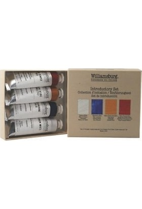 Williamsburg Oil Color Set introductory 4'L