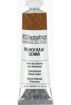 Williamsburg Oil Color 37 Ml S2 French Raw Sienna