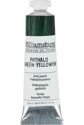 Williamsburg Oil Color 37 Ml S4 Phthalo Green Yellowish