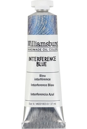 Williamsburg Oil Color 37 Ml S4 interference Blue