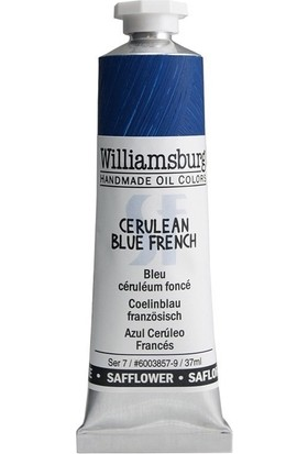 Williamsburg Oil Color 37 Ml S8 Cerulean Blue French