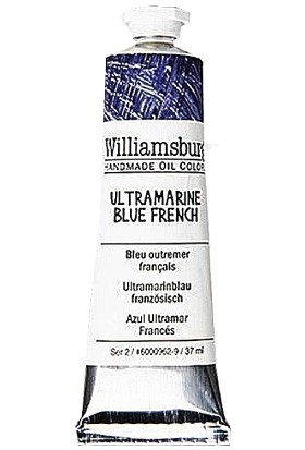 Williamsburg Oil Color 37 Ml S2 Ultramarine Blue French