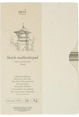 Sm.Lt Sketch Pad Authentıc Natur Inf A4 100Yp 100G